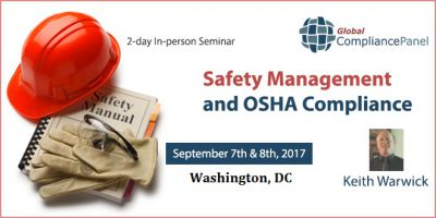 Safety Management and OSHA Compliance 2017