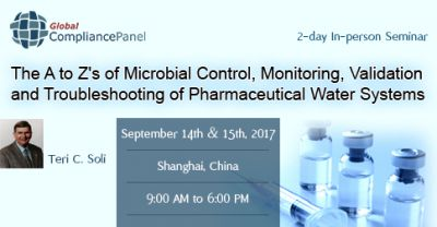 Microbial Control, Monitoring, Validation and Troubleshooting 2017