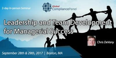 Leadership and Team Development for Managerial Success 2017