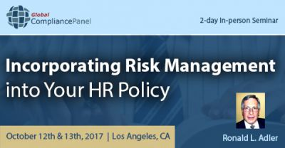 Incorporating Risk Management into Your HR Policy 2017
