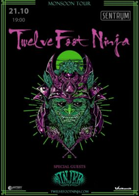 Twelve Foot Ninja and Jinjer