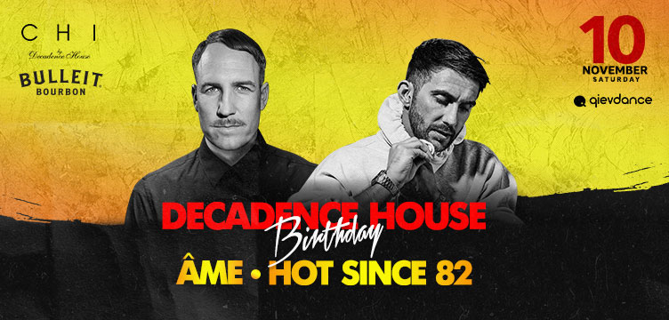 Decadance House Birthday