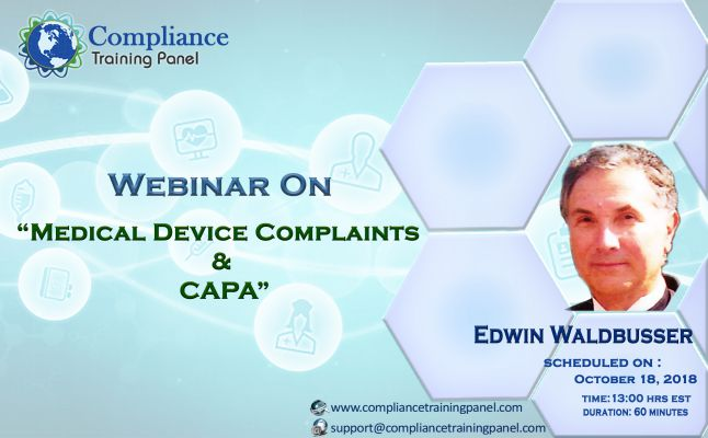 Medical Device Complaints & CAPA