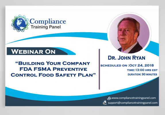 Building Your Company FDA FSMA Preventive Control Food Safety Plan
