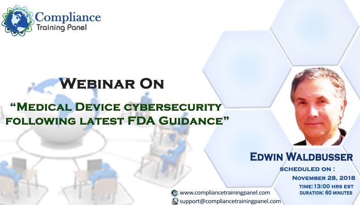 Medical Device Cybersecurity Following Latest FDA Guidance