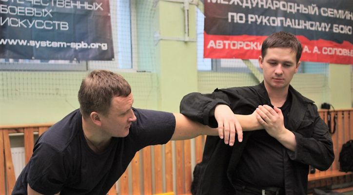 A Workshop on Solovyev Style Russian Applied Hand-to-Hand Fighting