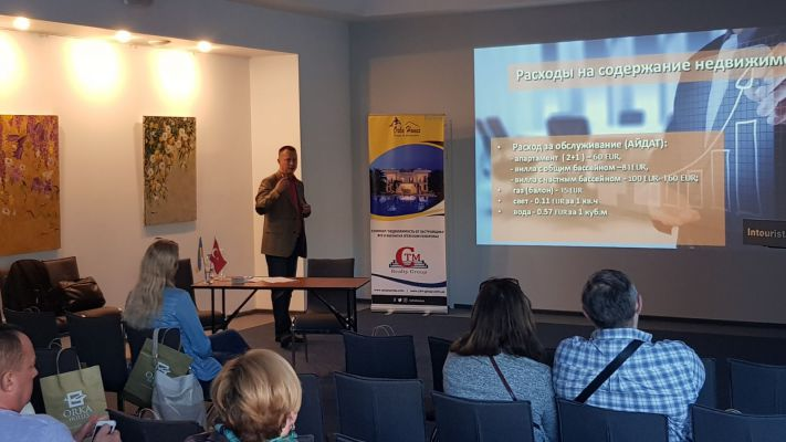 Free Seminar in Dnieper - Investment Property in Turkey
